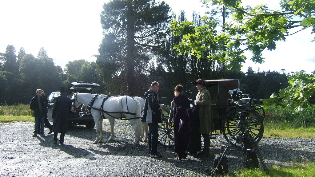 Filming for The Highwayman