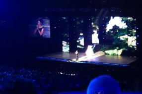 Deirdre Shanon Singing at the O2 Dublin with Lord of the Dance